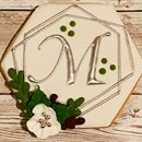 Monogrammed cookies for another rescheduled wedding!  Congratulations Cece and Luke #MarryMeMcKenzie @deb_stock @cecestockmckenzie Monogram Cookies, Wedding Congratulations, Custom Cookies, Marry Me, Sugar Cookies, Treats, Texture, Sweet Like Candy, Surface Finish
