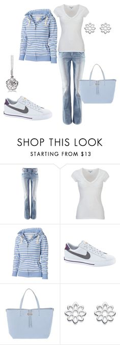 """LOVE CASUAL"" by leelee107 ❤ liked on Polyvore featuring H&M, White Stuff, Fat Face, NIKE, Salvatore Ferragamo, Kit Heath and Alloy Apparel"