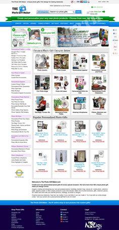 Website design for T