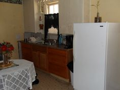 spacious kitchen, (appliances not included)