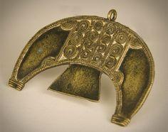 Burkina Faso   Pendant; bronze cast, lost wax method   POR
