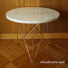 Ordinaire Round Marble Top Table