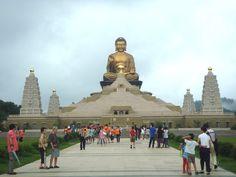 Fo Guang Shan, Kaohsiung, Taiwan, Buddha Memorial Hall