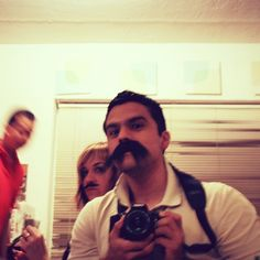 Mucho Moustachio. #throwback #tbt #2008 #selfie #selfportrait #portraiture #portrait #Miami - @ruben_i- #webstagram