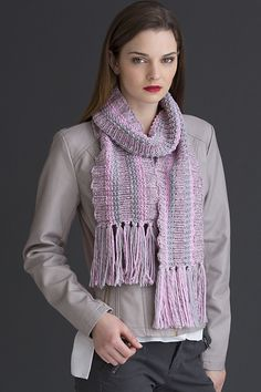Knitting Patterns Galore - Nerissa Scarf
