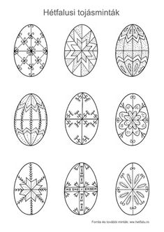 Egg Shell Art, Easter Egg Pattern, Easter Egg Designs, Ukrainian Easter Eggs, Easter Egg Crafts, Rock Painting Designs, Coloring Easter Eggs, Egg Art, Egg Decorating