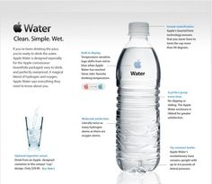 If #Apple made water... #adv #humor
