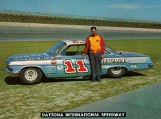 Ned Jarrett's (#11) 1962 Chevrolet Impala    He gave this car to Windle Scott who drove it several years as the #34