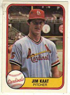 Jim Kaat   1981 Fleer