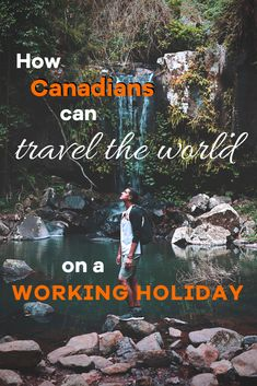 Planning a trip abroad? We explain what a working holiday is and how it makes long-term work and travel for Canadians possible. Working Holidays, Work Travel, Travel Abroad, Countries, Canning, How To Plan, World, The World, Home Canning