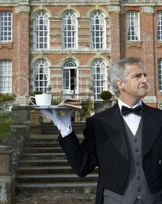 """Service at the """"Manor"""" English Country Manor, English House, English Style, English Countryside, Town And Country, Country Life, Country Living, Small Country Homes, Marble House"""