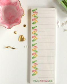 Macaron Day Notepad