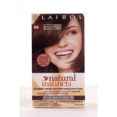 3-pack Natural Instincts Non-Permanent Color, Clove, MEDIUM ASH BROWN 24