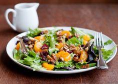 holiday mixed greens salad-2