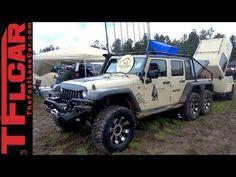 Six-Wheel-Drive Jeep Wrangler: When a Rubicon is just not Tough Enough