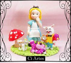 Topo de Bolo Alice