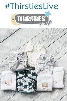 Watch this #ThirstiesLive video to learn how to cloth diaper at night. We outline two different approaches for setting your babe up for leak free slumber at night in their cloth nappies.