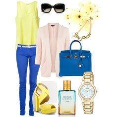 Color Blocking Monday, created by sue-shen on Polyvore