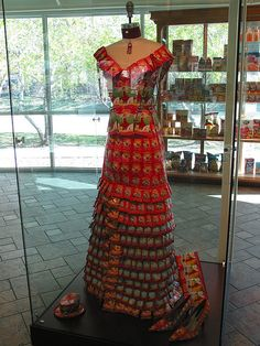 Teabag dress