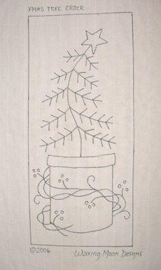 Tapis dessinés à la main crochet Pattern : par WaxingMoonDesigns