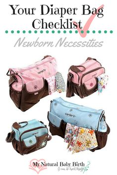 I'll be the first to say that my diaper bags and their contents have evolved a lot over time, as my boys grew and the more I had to travel with them.  Every experience out with them seems to be different.  But I wish I had a diaper bag checklist to start from, so I didn't experience what you just may.  http://mynaturalbabybirth.com/your-diaper-bag-checklist-newborn-necessities