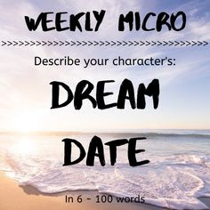 It's time for our Weekly Micro! Feel up to the challenge? You can post your micro right on our forum! Describing Characters, Writing Prompts For Writers, 100 Words, Creative Inspiration, Perfect Place, Dreaming Of You, Jazz, Challenge, Feelings