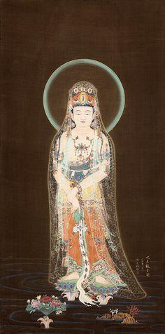 Buda Zen, Theravada Buddhism, Tibet, World Mythology, Mahayana Buddhism, Japanese Artwork, Buddha Art, Guanyin, Chinese Art