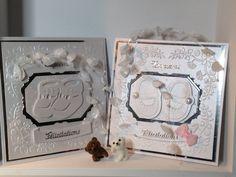 Cartes de félicitations pour cérémonie de baptème fille ou garçon