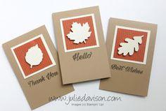 October 2016 Paper Pumpkin Season of Gratitute Alternative Project Ideas by Julie Davison www.juliedavison.com