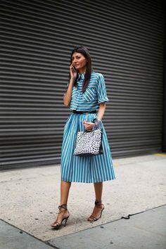 Los street style de las fashion weeks Giovanna Battaglia