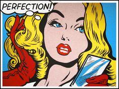 vintage comic book art