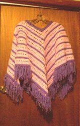 14 Simple Crochet Patterns for Ponchos + Bonus Fall Crochet Patterns eBook from @AllFreeCrochet