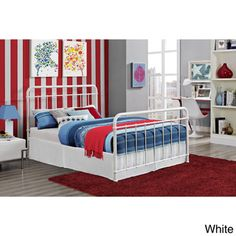 Brooklyn Iron Full Bed Frame | Overstock.com Shopping - Great Deals on Kids' Beds