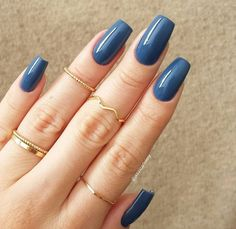 Find and enjoy the latest, trendy nail art designs with beautiful pictures New Nail Designs, Colorful Nail Designs, Acrylic Nail Designs, Blue Acrylic Nails, Blue Nails, Acrylic Gel, Gel Nail Art, Gel Nails, Polish Nails