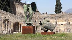 Igor Mitoraj a Pompei.