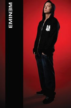 Eminem (hoodie) - plakat - 61x91,5 cm  Gdzie kupić? www.eplakaty.pl