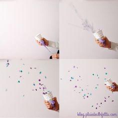 Suivez ces quelques étapes et fabriquez en quelques minutes un lanceur de confettis que vos enfants adoreront !