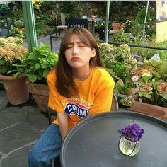 her inst: hyanggggg_ Ulzzang Korean Girl, Cute Korean Girl, Ulzzang Couple, Asian Girl, Kfashion Ulzzang, Ullzang Girls, Cute Girls, Aesthetic People, Aesthetic Girl