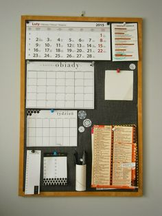 Homework Organization, Calendar Organization, College Checklist, Study Room Decor, Burlap Crafts, Hacks Diy, Diy Crafts For Kids, Getting Organized, Diy Bedroom Decor