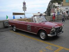 FIAT 2100 Cabriolet Presidentiale Taxi Capri. Carrozzeria Francis Lombardi 1959 - 1968. Convertible, Fiat, Antique Cars, Capri, Bella, Vehicles, 3, Passion, Business