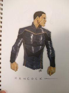 Hancock sketch, in Ibrahim Moustafa's Color Sketches Comic Art Gallery Room Fictional Heroes, Fictional Characters, Comic Art, Art Gallery, Batman, Sketches, Superhero, Comics, Color