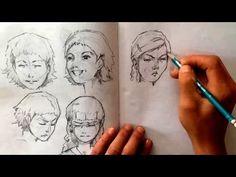 Cómo Aprenderá A Dibujar Rostros Humanos Paso A Paso [Guía Única]