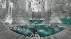 Gallery of 'Thessaloniki's Wet Dream' Thermal Bath Complex Proposal / NaNA (NotaNumber Architects) - 4