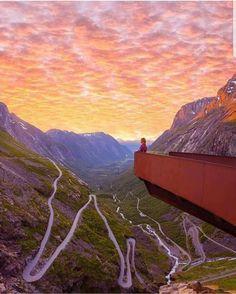 Trollstigen , Norway