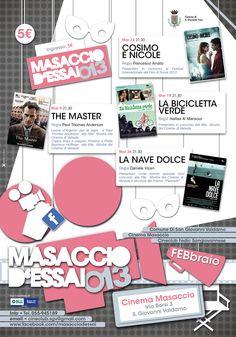 Poster Masaccio Cinema d'Essai Febbraio 2013