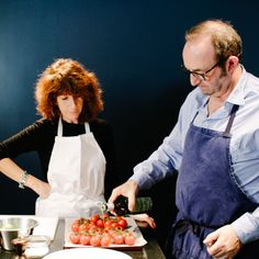 Michel Antoine Daumas cuisine avec ses invités chez Fingle