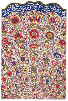 Ornement décoratif #polychrome provenant des #collections du Victoria and Albert Museum, souvent abrégé « V&A », fondé en 1852 à Londres, dans le quartier de South Kensington. Il abrite l'une des #collections d'art #chinois les plus complètes et les plus importantes au monde #numelyo #color #museum #musée #décoration #motif #flore #artgraphique #chromatique #couleur