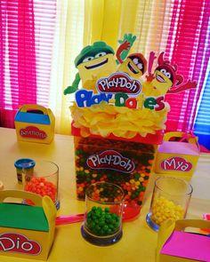 Play-Doh Theme Centerpiece!