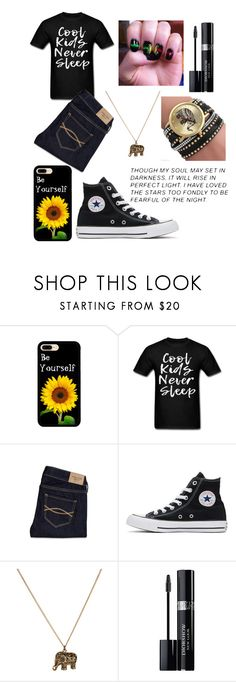 """""""Cool Kids"""" by annawell-1 ❤ liked on Polyvore featuring Abercrombie & Fitch, Converse, Accessorize and Christian Dior"""