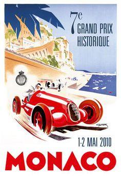 F1 MONACO. PETITE HISTOIRE D'UN GRAND CIRCUIT